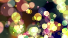 Defocus Abstract Background - Full Colors Stock Footage