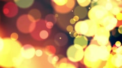 Defocus Abstract Background - Warm Colors Stock Footage