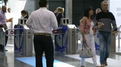 Convention Entrance Stock Footage