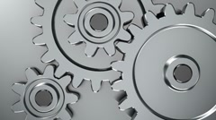 Rotating gears Stock Footage