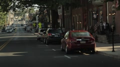Stock Footage - Driving through the Town of Gettysburg, PA    # 2 Stock Footage