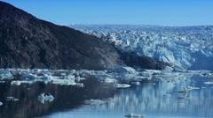 Large Glacier Disko Bay Stock Footage