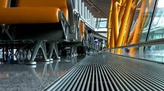 Beijing Airport Terminal China 02 Stock Footage