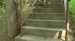 Stairs 01 Stock Footage