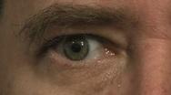 Old Man  Senior Citizen Aging Eye SD16x9 Stock Footage