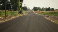 Stock Video Footage of Country Road 29.97p