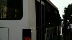 Beijing China Traffic 08 stylized filmlook Stock Footage