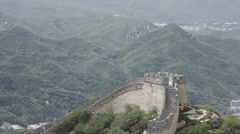 Great Wall in China 10 neutral high dynamic color - stock footage
