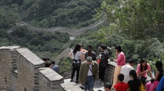 Great Wall in China 13 neutral high dynamic color - stock footage