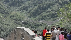 Great Wall in China 18 neutral high dynamic color DOLLY - stock footage