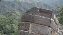 Great Wall in China 19 neutral high dynamic color DOLLY Stock Footage