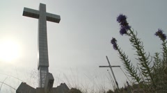 The Cross. 3 Stock Footage