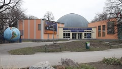 Planetarium in Vienna / Austria Stock Footage