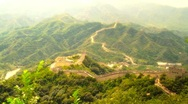 Stock Video Footage of Great Wall in China 54 stylized artsoft diffusion