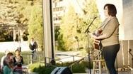 Stock Video Footage of lead singer