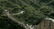 Stock Video Footage of Great Wall in China 69 stylized filmlook