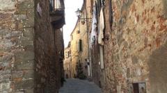 Italian street - stock footage
