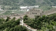 Stock Video Footage of Great Wall in China 85 stylized filmlook