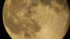 Stock Video Footage of Moon 01 Timelapse