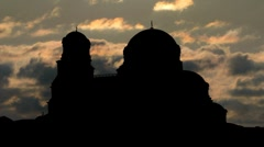 Bulgaria Alexander Nevski Cathedral 1 Stock Footage