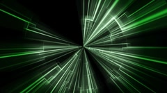 Light Tunnel Motion Background Stock Footage