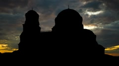 Bulgaria Alexander Nevski Cathedral 2 Stock Footage