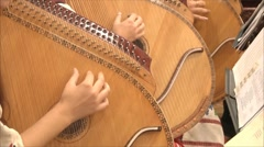 Musical instruments in the orchestra 2 Stock Footage