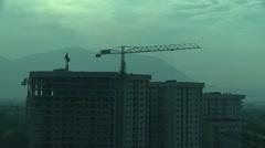 Building works. Sarajevo. 3 Stock Footage