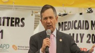 Stock Video Footage of Congressman Kucinich