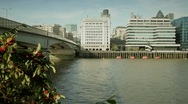 River view Stock Footage