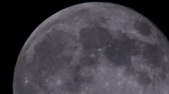 Moon 28 - stock footage