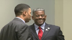 Congressman Allen West - stock footage
