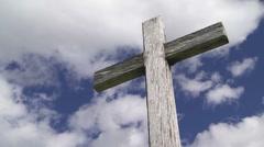 Wooden Cross TL - stock footage