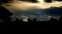 UK Windsor Castle 1 Stock Footage