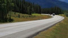 Recreational Vehicle - stock footage