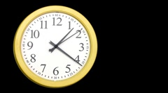 Clock Stock Footage