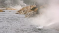 Firehole River Stock Footage