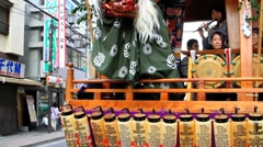 Show, part of Choufu annual Festival, Japan. Stock Footage