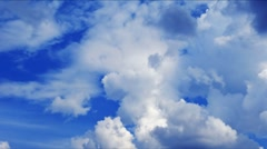 clouds. time lapse HD - stock footage