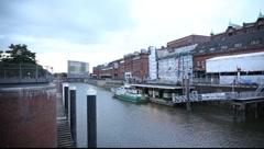 Hamburg Hafencity Stock Footage
