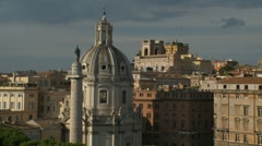 Trajans Column, Rome Stock Footage