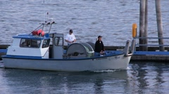 Fishing Boat on Columbia River Stock Footage