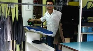 Stock Video Footage of Turkey Istanbul Turkish ironing shop