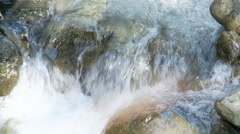 Waterfall detail slow motion Stock Footage
