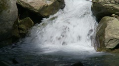 Waterfall slow motion - stock footage