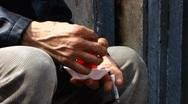 Stock Video Footage of Turkey Istanbul old town Sultanahmet Turkish tea