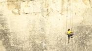 Good climber Stock Footage