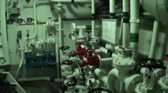 Machine room Stock Footage