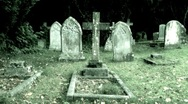 Stock Video Footage of Graveyard