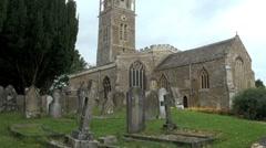 Churchyard Stock Footage